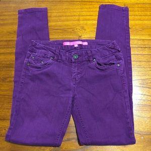4/$25 Tinseltown skinny jeans